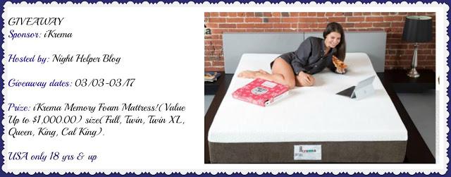 Win an Ikrema mattress!