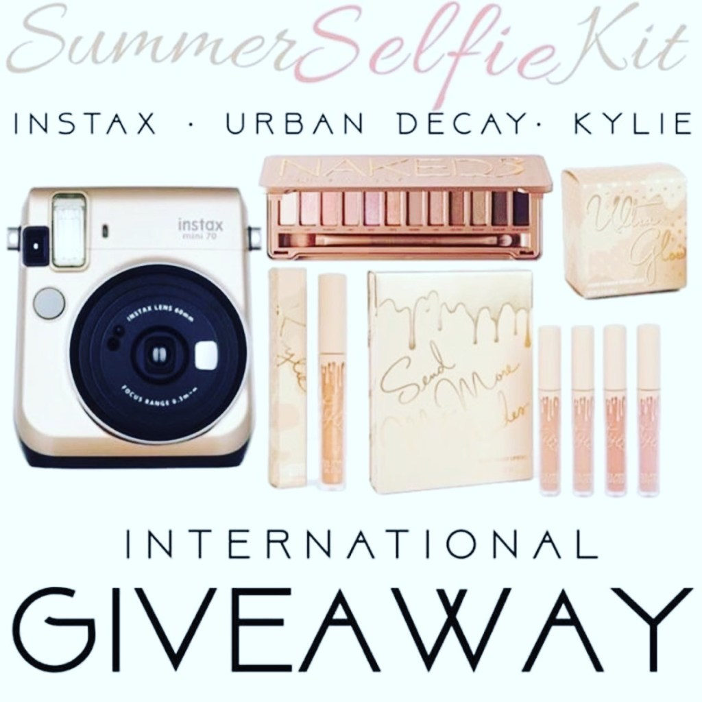 GIVEAWAY: Win an Instax Camera, Urban Decay & Kylie Cosmetics - or CASH!