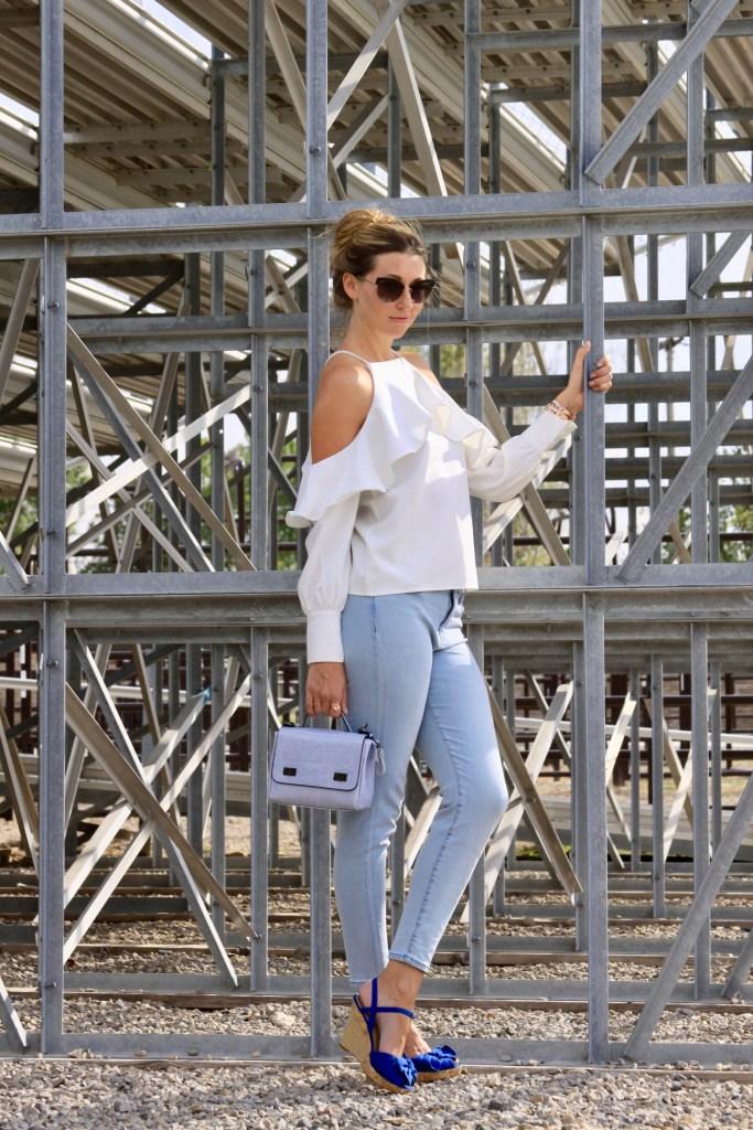 Style Post: Denim & Ruffles for Fall