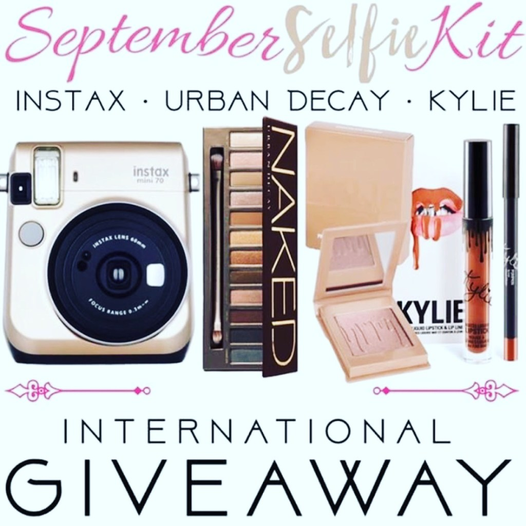 GIVEAWAY: Win an Instax Camera, Urban Decay Makeup + Kylie Lip Kits