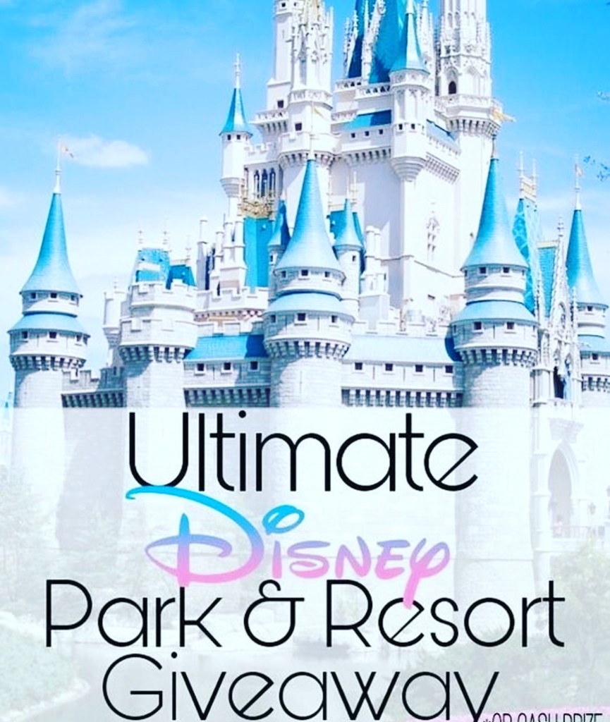 GIVEAWAY: Win the Ultimate Disney Park & Resorts Giveaway (or Cash!)