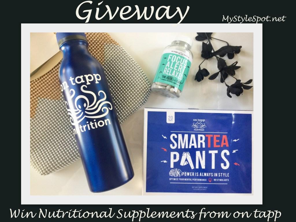OnTapp Smart Tea Pants & Focus Giveaway