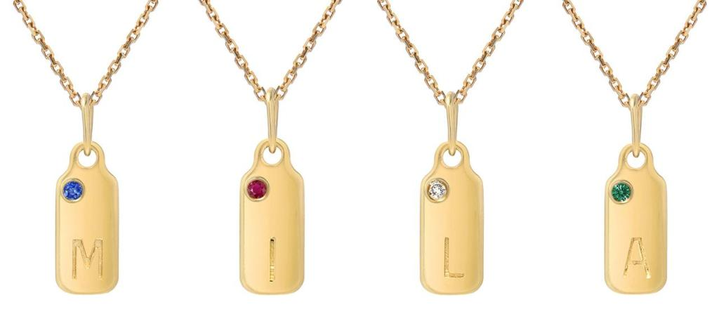 Mila Kunis' Dainty Dog Tags Make the Perfect Holiday Gift