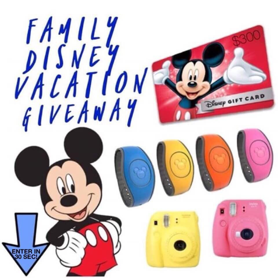 GIVEAWAY: Win Everything You Need for a Disney Vacation