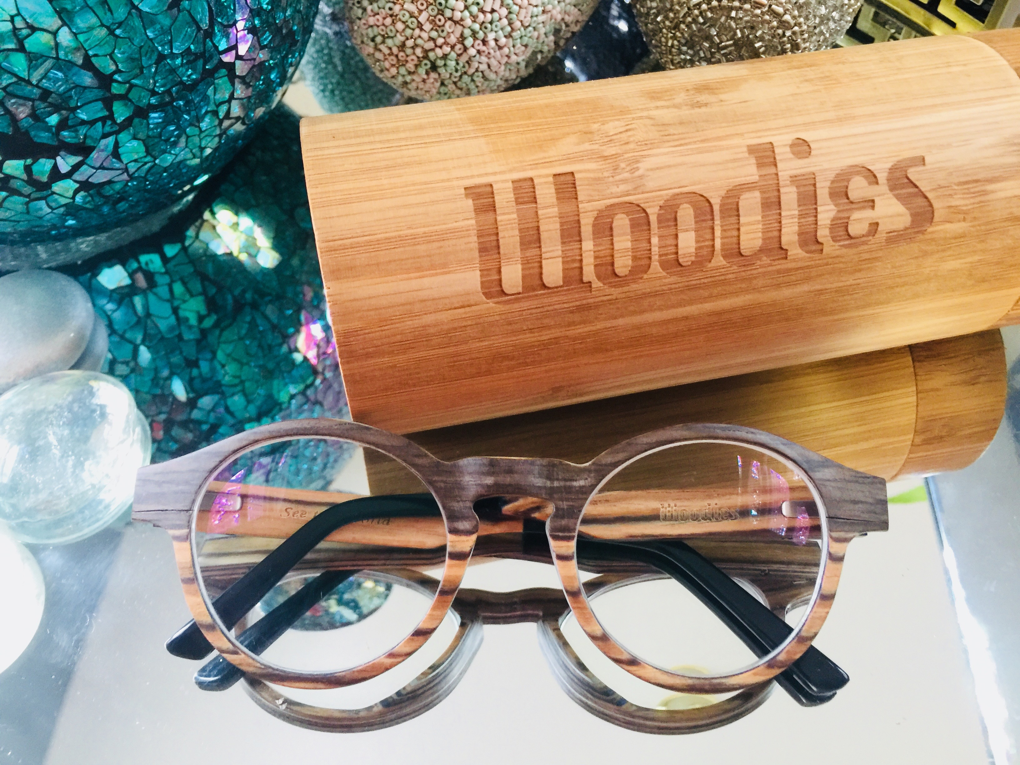 these super chic woodies eyeglasses do a fantastic job of making me feel like my still somewhat young self - Woodies Christmas Decorations