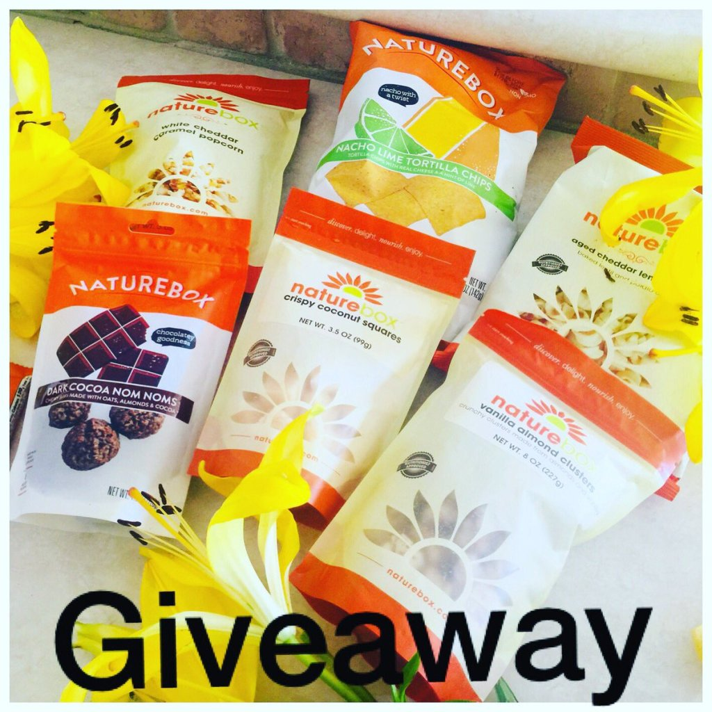 GIVEAWAY: Win $50 In Yummy Healthy, Natural Treats from Nature Box