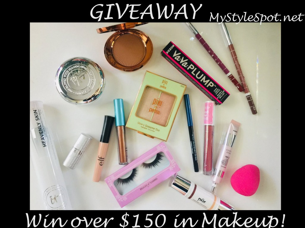GIVEAWAY: Win Tons of Makeup + Other Fab Prizes in the Blog Hop