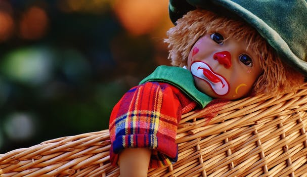 sad face fall scarecrow