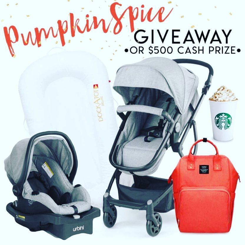GIVEAWAY: Win $500 Cash in the Pumpkin Spice Contest