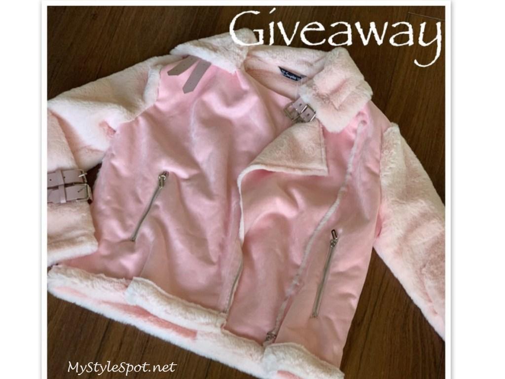 GIVEAWAY: Win a Cozy Faux Fur & Suede Women's Jacket