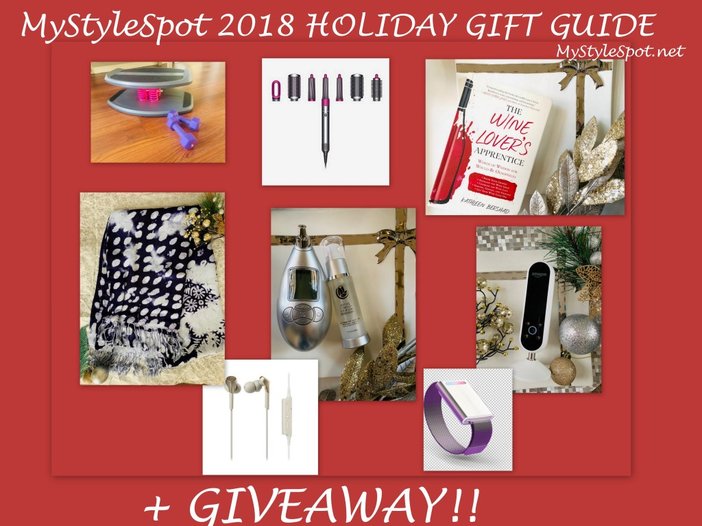 MyStyleSpot 2018 Holiday Shopping Gift Guide + GIVEAWAY