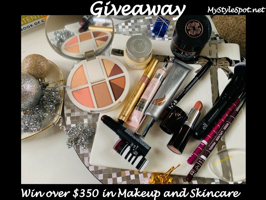 win $350 in makeup ang skincare