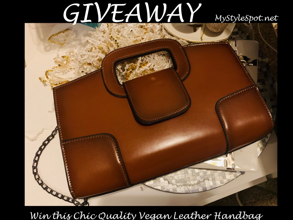 GIVEAWAY: Win a Chic Quality Vegan Leather Handbag