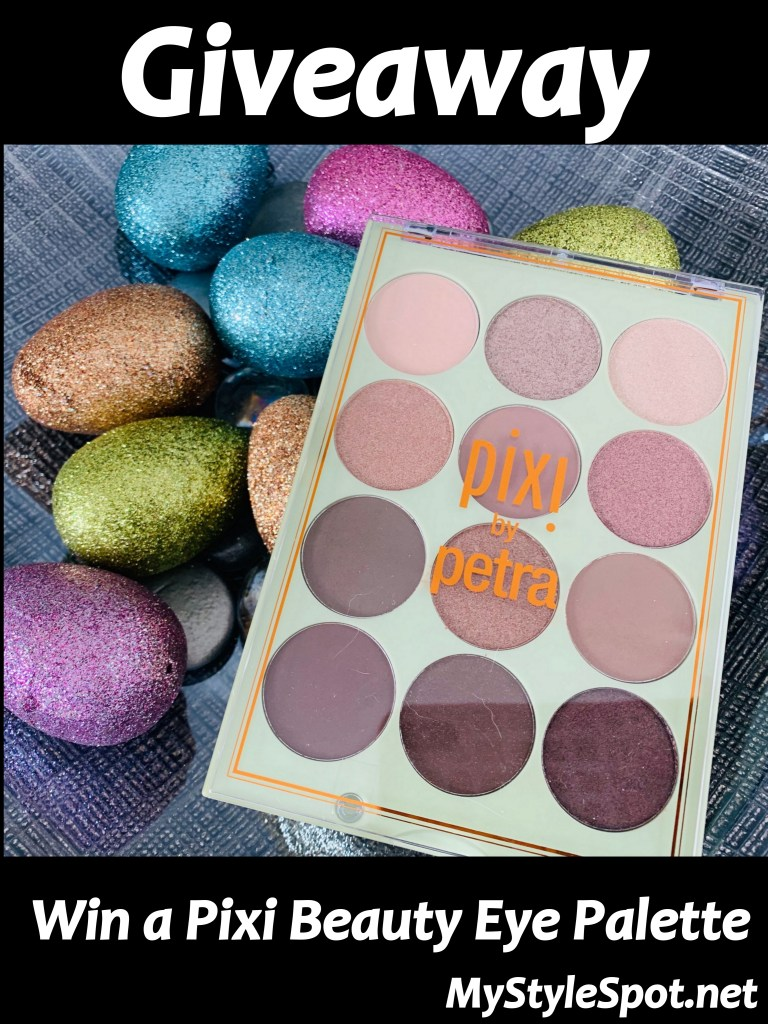 Enter to win a pixi beauty shimmer eye palette