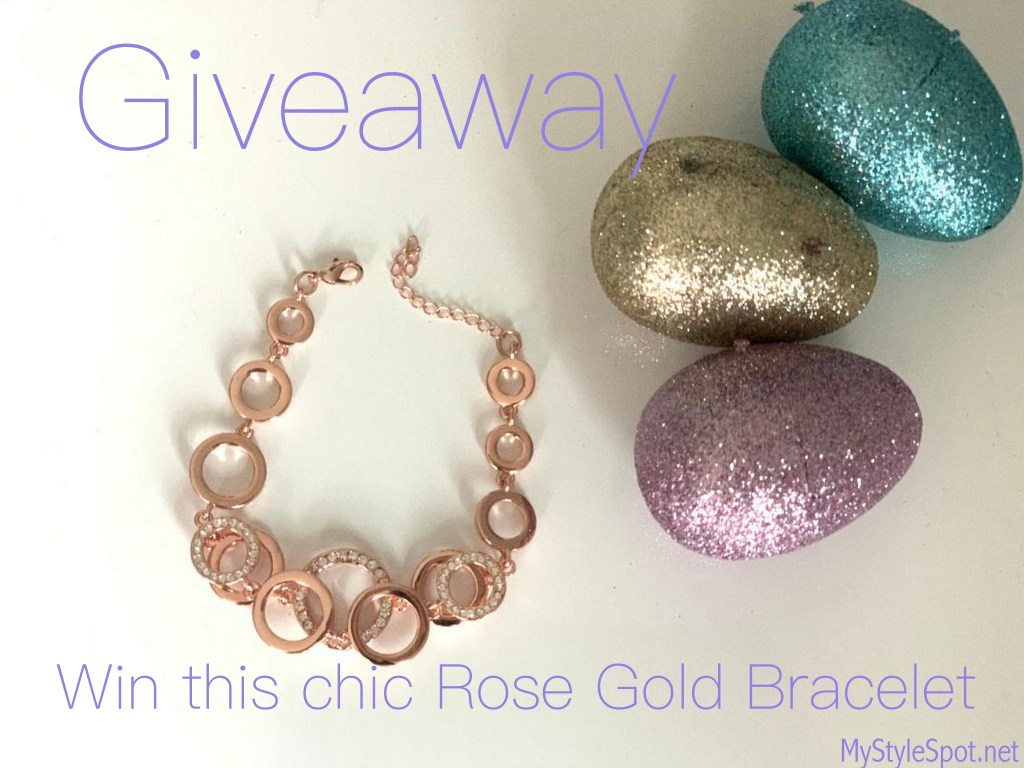 Enter to win a rose gold bracelet
