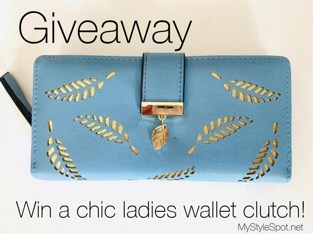Enter to win a chic ladies wallet clutch plus tons of other fab prizes!