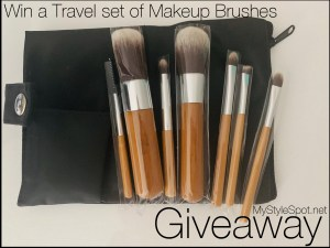 GIVEAWAY: Win a Travel Set of Makeup Brushes