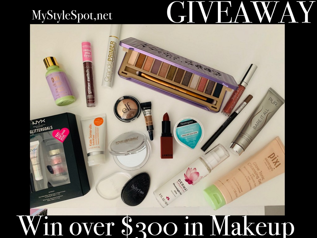GIVEAWAY: Win over $300 in Makeup + Tons of other Fab Prizes