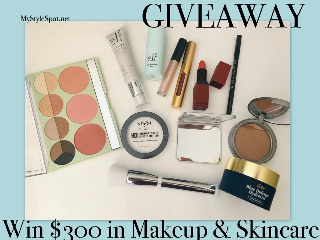 Enter to win $300 in makeup and skincare
