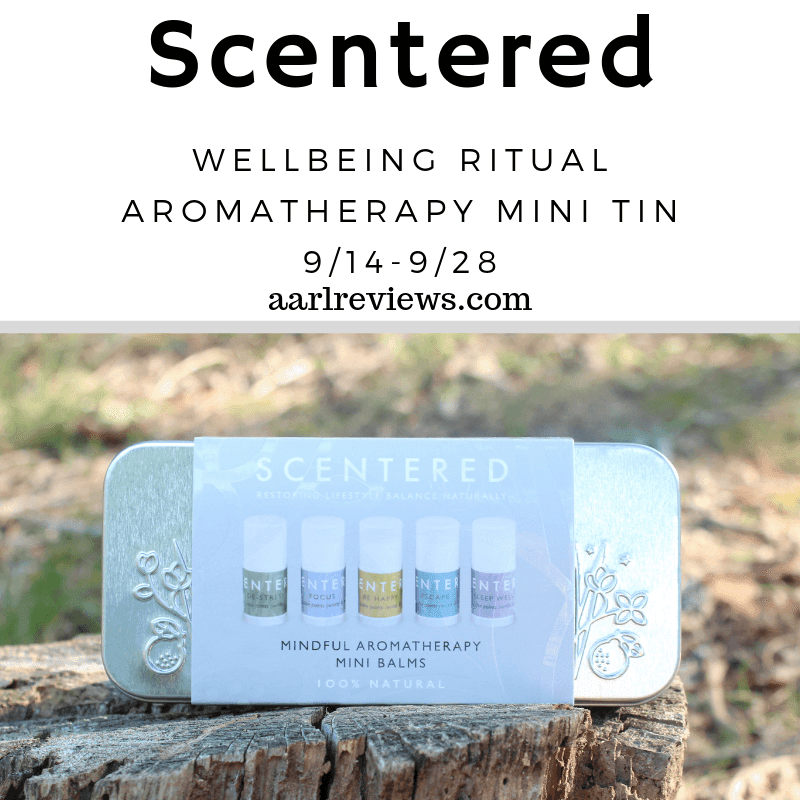 Enter to win a Scentered wellbeing ritual aromatherapy set