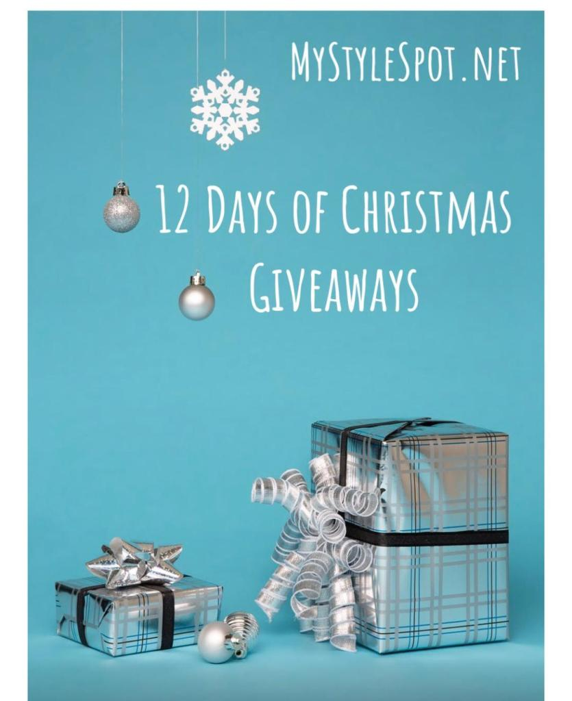 Brands: Get your Product Featured by Joining the 2019 MyStyleSpot 12 Days of Giveaways