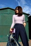 PurpleTop-BluePants-BlueCullottes-purpleclutch-KarlaVargas-FallStyle-SanDiegoStyle-SanDiegoStyleBlogger-Balboa-Balboapark