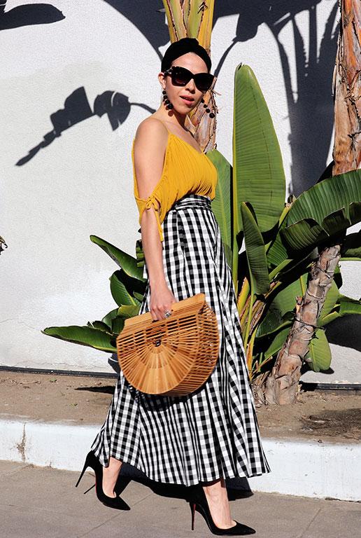 Skirt-gingham-summer2018-summertime-summerstyle-sandiegostyleblogger-sdstyle-cultgaiabag-cultgaia