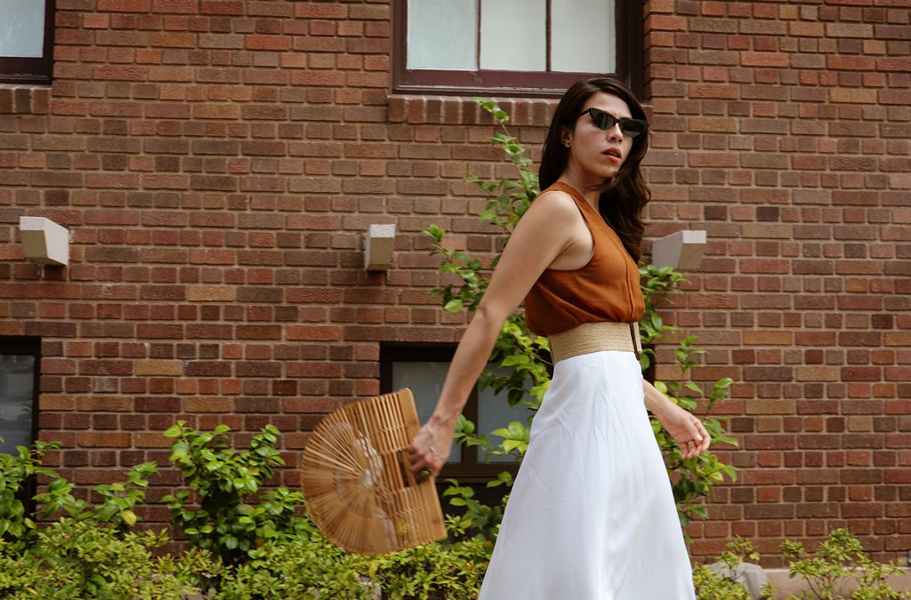 How to wear a cult gaia bag