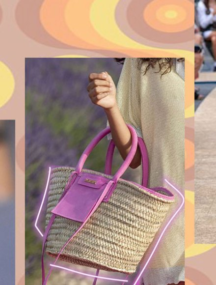 Spring Summer Trends 2020 Straw hats and bags