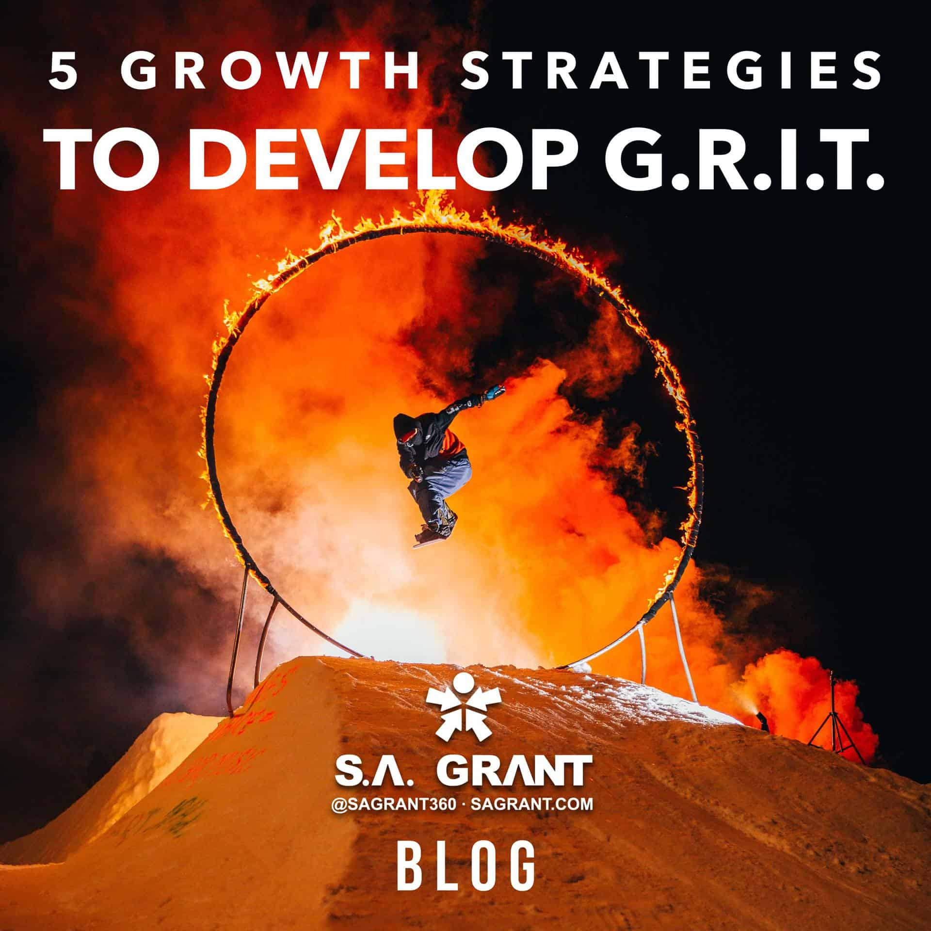 5 Growth Strategies To Develop GRIT