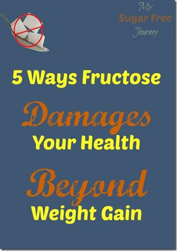 5 Ways Fructose Damages Your Health Beyond Weight Gain