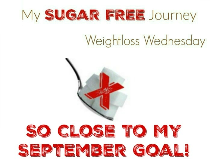 9/28 Weightloss Wednesday: So Close to my September Goal ...