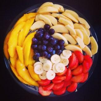 fruits by my sunny pots
