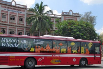 Mysuru City Volvo bus