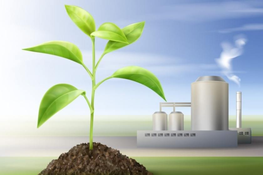 Concept Processing Natural Resources Biofuel Green vector created by macrovector - www.freepik.com
