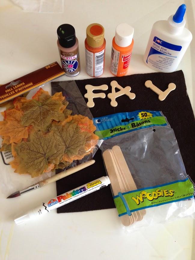Fall Pumpkin Craft (1/6)