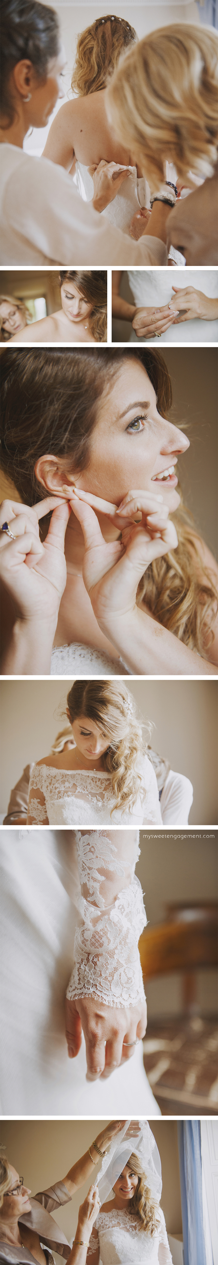 bride getting ready photos - mother of the bride - wedding blog - my sweet engagement