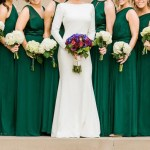 12 Gorgeous Emerald Green Bridesmaid Dress photos that will show you why this is the fanciest green shade for your wedding. Photo: Catherine Rhodes Photography.⠀⠀⠀⠀⠀⠀⠀⠀⠀ ⠀⠀⠀⠀⠀⠀⠀⠀⠀⠀⠀⠀⠀⠀⠀⠀⠀⠀⠀⠀⠀⠀⠀ ❤️⠀More #BridesmaidDresses inspiration: mysweetengagement.com/galleries/bridesmaids⠀⠀ ❤️⠀More #EmeraldGreen #wedding inspiration on our Wedding Colors gallery: mysweetengagement.com/colors/emerald-green-wedding/