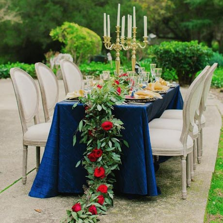 Wedding Color: Navy Blue • My Sweet Engagement