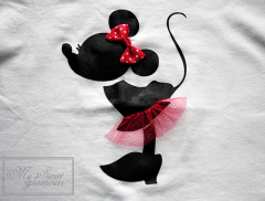 Camiseta Minnie vinilo 3