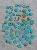 azules