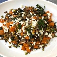 warm harvest salad