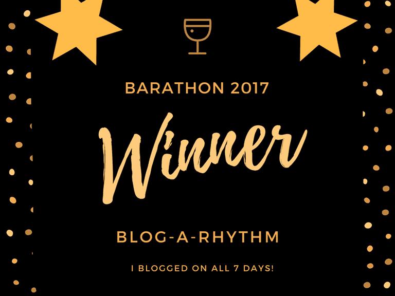 #BarAThon Winner Badge