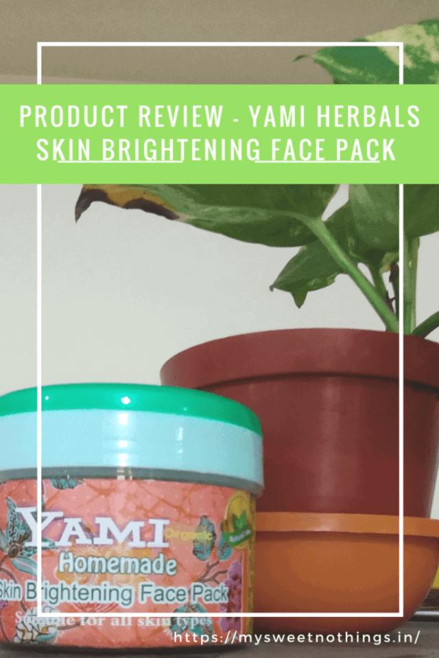 Yami herbals Skin Brightening Face Paxk