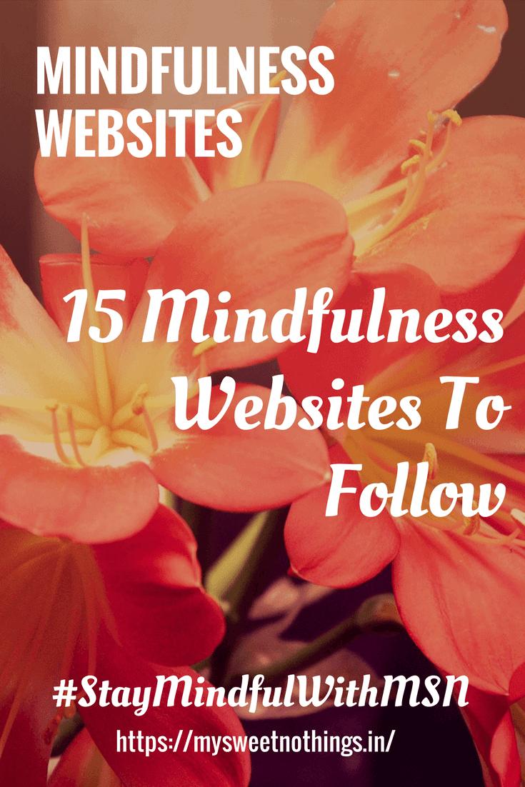 W For Mindfulness Websites