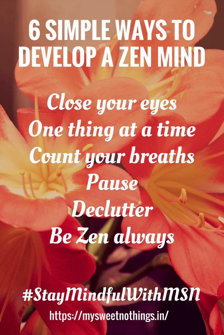 Z For Zen Mind