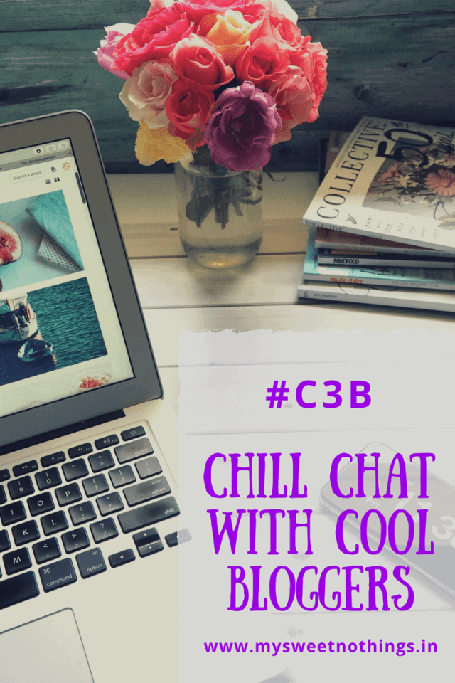 Chill Chat with Cool Bloggers