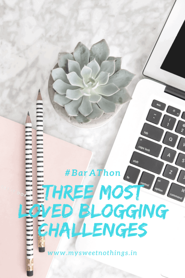 Three Most Loved Blogging Challenges