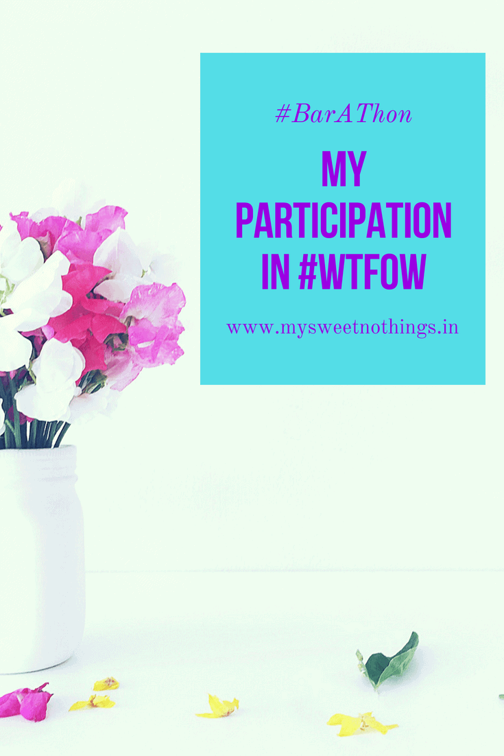 My Paricipation in #WTFOW Challenge