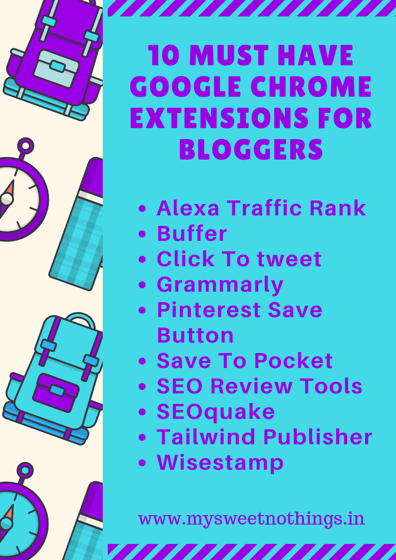 10 Must Have Google Chrome Extensions For Bloggers